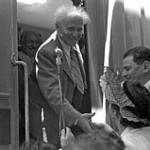 Зустріч Бен-Гуріона в 1947 році Єрусалимі